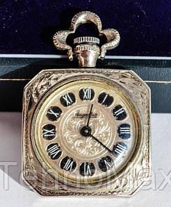 Очаровательные карманные часы! Винтаж! Серебрение!