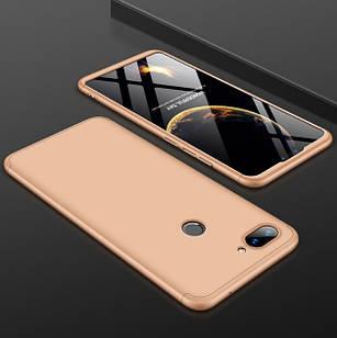 Чохол GKK для Xiaomi Mi 8 Lite (золотий)