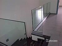 Перила и ограждения из стекла для балконов