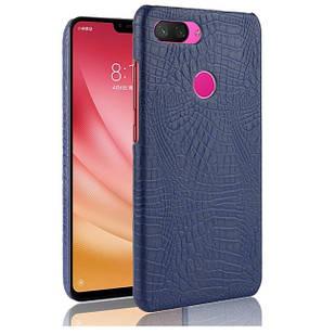 Чехол Croco Style для Xiaomi Mi 8 lite (разные цвета)