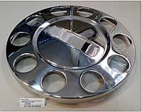 Колпак декоративный колеса уневерсальный хром. Колпак колеса хромированый 22,5 без надписи