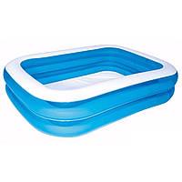 Детский надувной бассейн Bestway 54005 голубой, фото 1