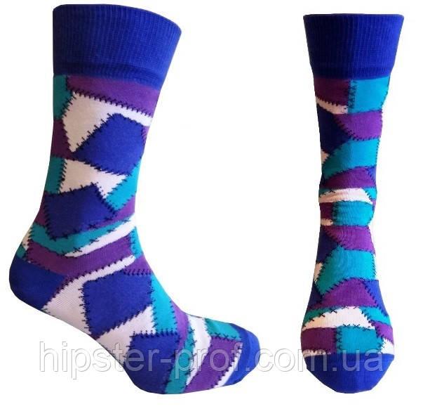 Яркие мужские носки, р. 40-43