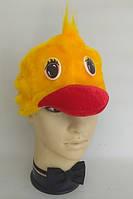 Шапочка Уточка для детей, шапка для костюма Утенок, Уточки, Утенка