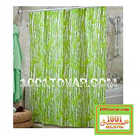 """Шторка для ванной комнаты """"Bamboos"""" (Бамбук), размер 240х200 см."""