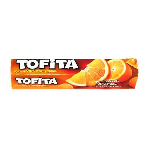 "Жувальна Цукерка ""TOFITA"" Апельсин 47 м х 20 шт"