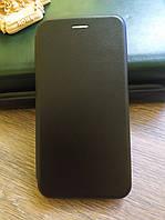 Чехол книжка для Huawei Y7 2019 цвет Черный