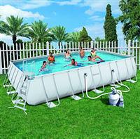 Прямоугольный каркасный бассейн, размером 671х396х132 см