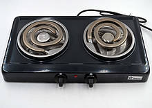 Электроплита двухконфорочная спираль двойной  DOMOTEC MS-5532