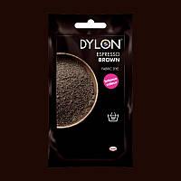 Краска для ткани DYLON Espresso Brown - для покраски вручную