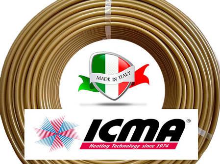 Труба д/теплого пола ф16 * 2.0 ICMA GOLD-PEX Италия, фото 2