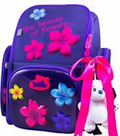 Школьный ранец DeLune 6-117, фиолетовый, 12л
