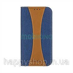 Чехол-книжка Goospery Canvas для Xiaomi Redmi 5A (Blue)