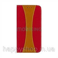 Чехол-книжка Goospery Canvas для Xiaomi Redmi 5A (Red)