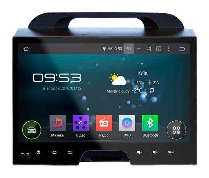 Автомагнитола для Kia SPORTAGE R 2010+ AHR-1880 штатное головное устройство Android 5.1