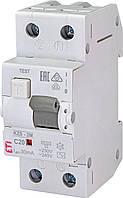 Дифавтомат KZS-2M C 20/0,03 тип AC (10kA) ETI