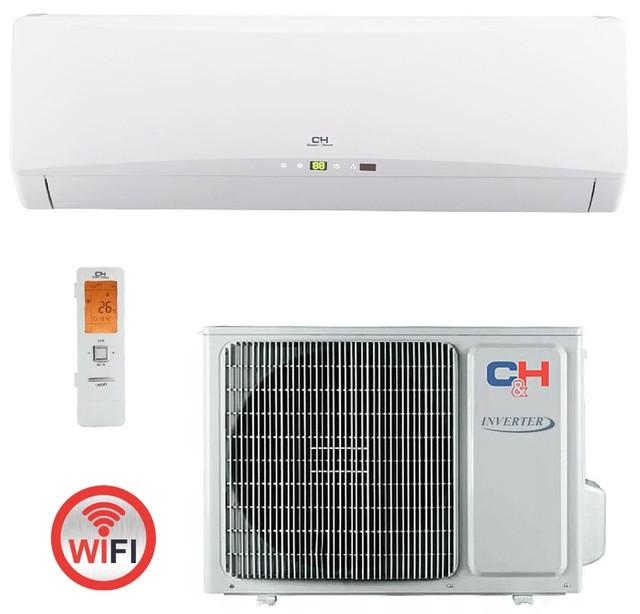 Инверторный кондиционер Cooper&Hunter CH–S12FTXTB2S–W серии ICY ІІ Inverter (WI–FI)