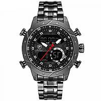 Мужские спортивные часы Shark Snaggletooth черные