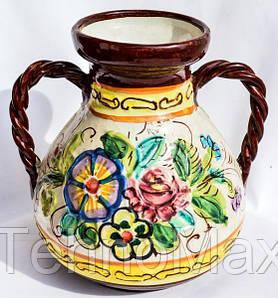 Очаровательная амфора,ваза! Майолика! Италия!