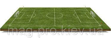 """Искусственное поле для мини-футбола 22х42м """"под ключ""""  газон Турция 40 мм"""