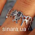 Серебряное кольцо Париж - Кольцо достопримечательности Парижа серебро 925 - Кольцо Франция, фото 9