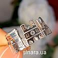 Серебряное кольцо Париж - Кольцо достопримечательности Парижа серебро 925 - Кольцо Франция, фото 3