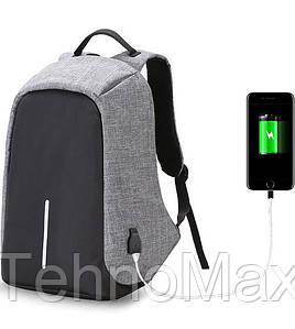 Рюкзак-Антивор В Стиле Bobby XD Design  с USB зарядкой
