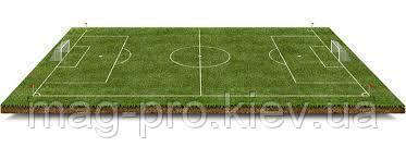 """Искусственное поле для мини-футбола 22х42 м """"под ключ"""" газон Китай 40 мм"""