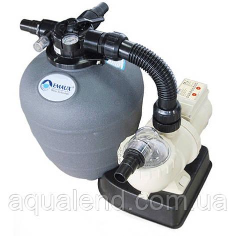 Фільтр для басейну пісочний FSU -8TP, 8м3/год, з пластику з верхнім підключенням, фото 2