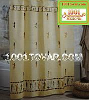 """Тканевая шторка для ванной комнаты """"Egipt"""" (Египет) из полиэстера Miranda, размер 180х200 см., Турция, фото 1"""