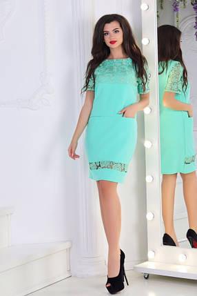 Сукня мереживо в кольорах 74405, фото 2