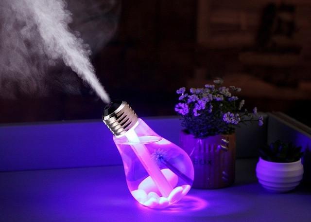 Увлажнитель воздуха ультразвуковой Лампочка
