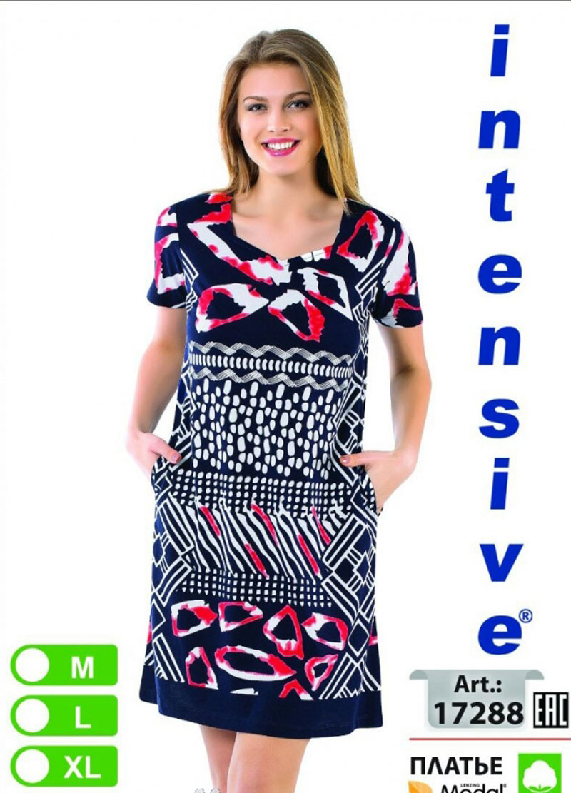 Літній трикотажне плаття (жіноче) Intensive №17288