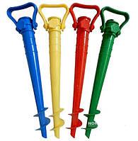 Пластиковая подставка винт для зонта