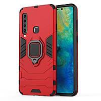 Чехол Ring Armor для Samsung Galaxy A9 2018 (A920) Красный