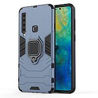 Чехол Ring Armor для Samsung Galaxy A9 2018 (A920) Синий