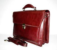 32037.006 Портфель деловой натуральная кожа