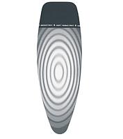 Чехол для гладильной доски Brabantia, 135x45 см, серый с кругами (266782), фото 1