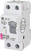 Діфреле (ПЗВ) EFI6-2 25/0,03 тип AC (6kA) ETI