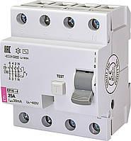 Діфреле (ПЗВ) EFI6-4 25/0,03 тип AC (6kA) ETI