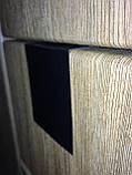 Меловой ценник 20х20 см П-образный на полку. Грифельная табличка на стеллаж. Для надписей мелом и маркером., фото 2