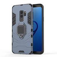 Чехол Ring Armor для Samsung Galaxy S9+ SM-G965 Синий