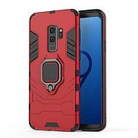 Чехол Ring Armor для Samsung Galaxy S9+ SM-G965 Красный