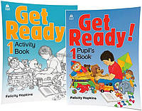 Английский язык / Get Ready! / Pupil's+Activity Book. Учебник+Тетрадь (комплект), 1 / Oxford