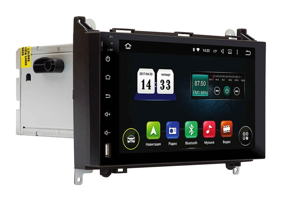"Штатная магнитола для Mersedes A/B class AHR-1522 2 din магнитолаINCar экран 9"" Андроид 8"