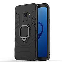 Чохол Ring Armor для Samsung Galaxy S9 SM-G960 Чорний