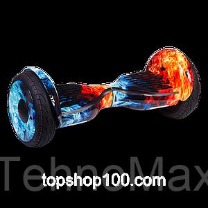 "Гироскутер / Гироборд Smart Balance Elite Lux 10,5"" Огонь и Лед +Cумка (Распродажа 2017 Года)"