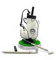 "Письменный набор с часами ""гольф"" (19,5х12х12 см)"
