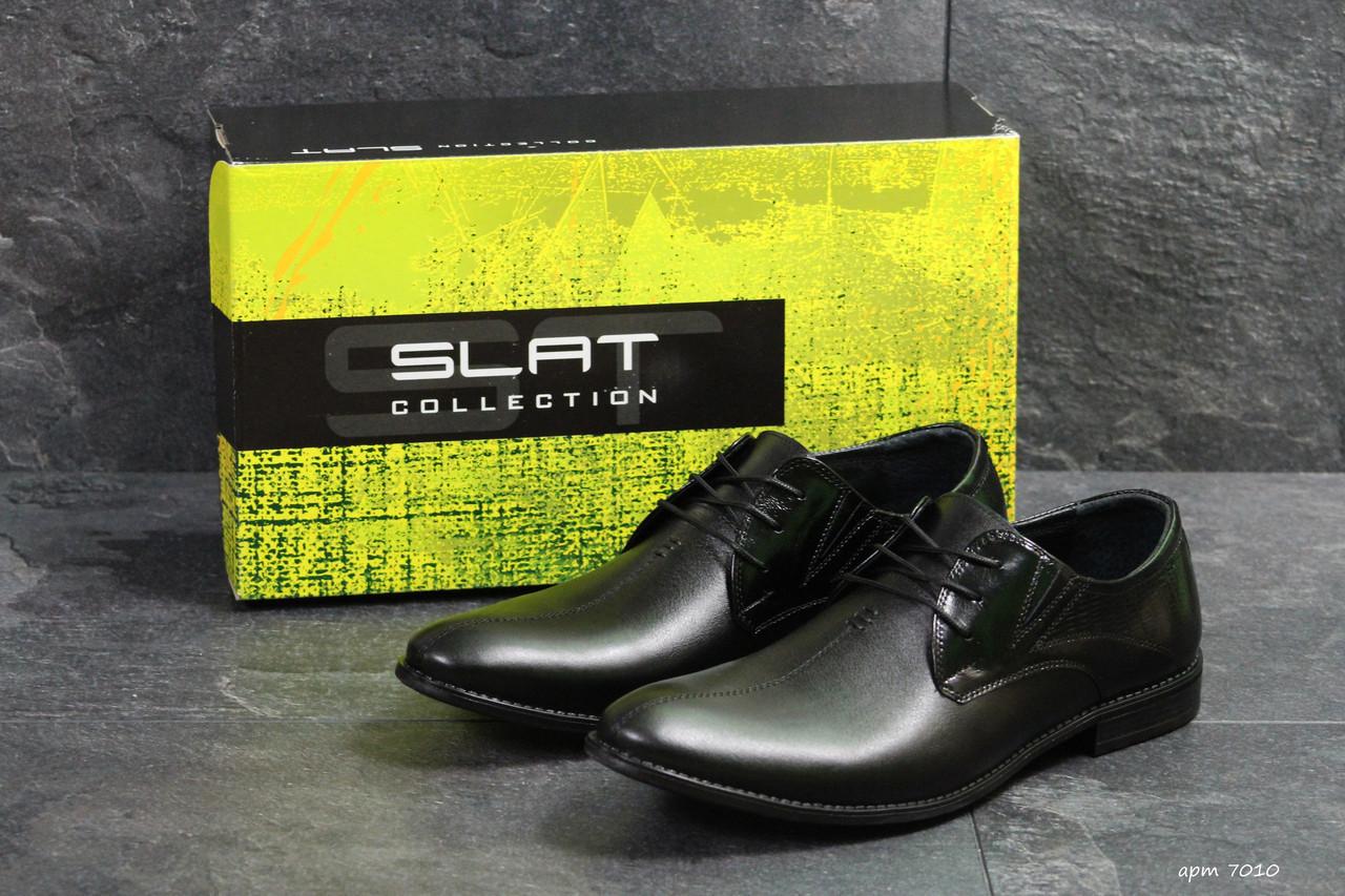 244431462 Мужские туфли в стиле Slat, черные , цена 1 200 грн., купить в ...