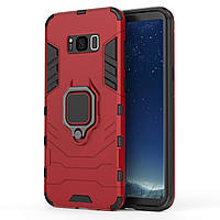 Чехол Ring Armor для Samsung Galaxy S8+ SM-G955 Красный